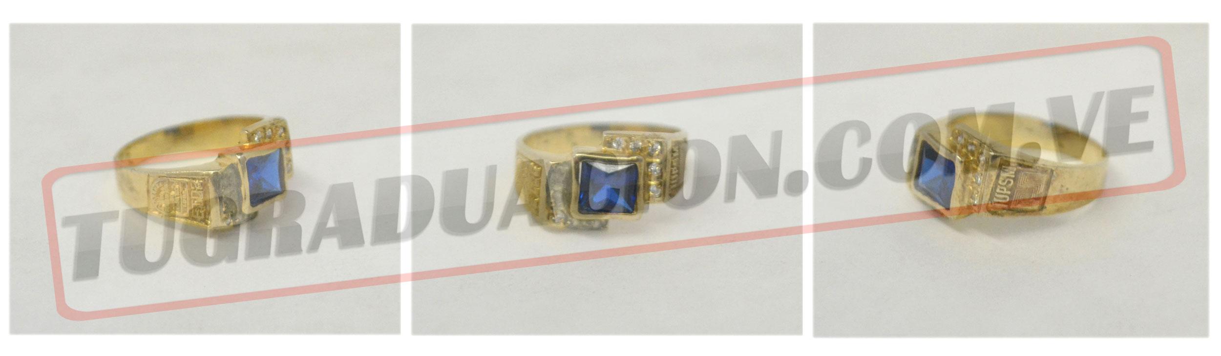 ee39e1bd5bb5 Anillos de graduacion (anillo de grado) Para mujeres y hombres en ...
